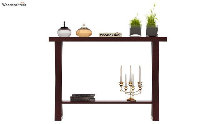 Porter Console Table (Mahogany Finish)-3
