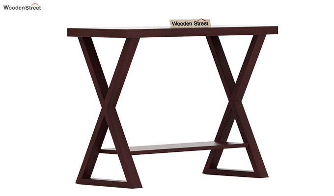 Porter Console Table (Mahogany Finish)-4