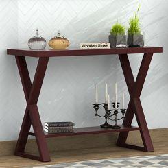 Porter Console Table (Mahogany Finish)