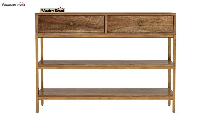 Porter Console Table (Natural Finish)-2