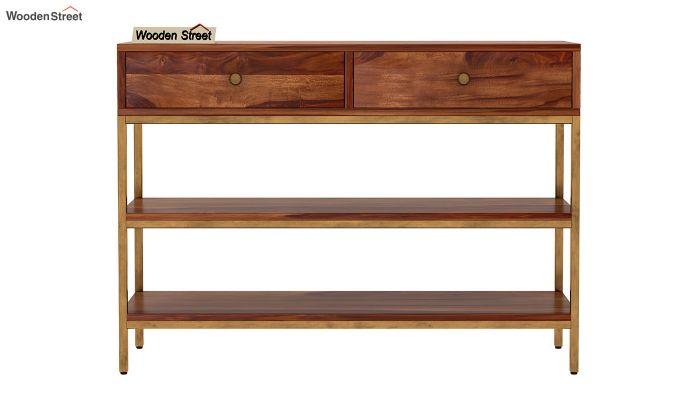 Porter Console Table (Teak Finish)-4
