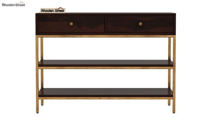 Porter Console Table (Walnut Finish)-4