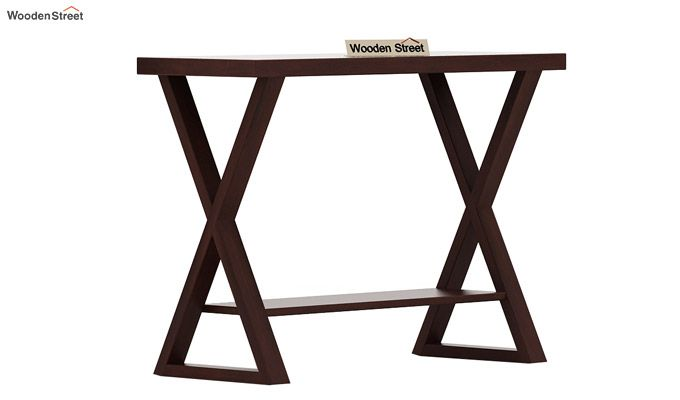 Porter Console Table (Walnut Finish)-3