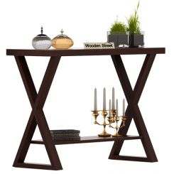 Porter Console Table (Walnut Finish)