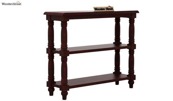 Powell Console Table (Mahogany Finish)-3