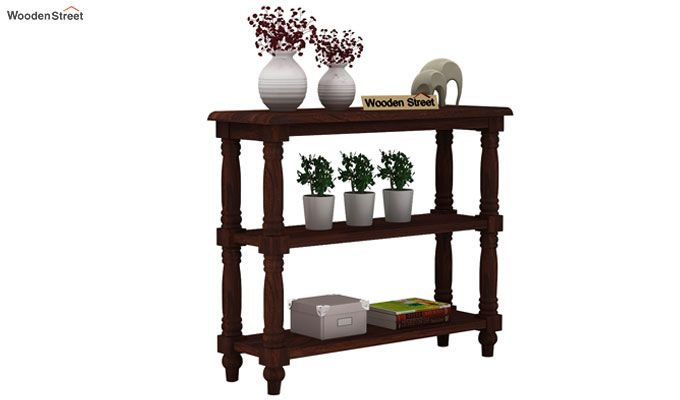 Powell Console Table (Walnut Finish)-1