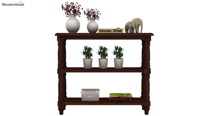 Powell Console Table (Walnut Finish)-2
