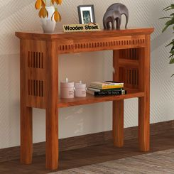 Rainer Console Table (Honey Finish)