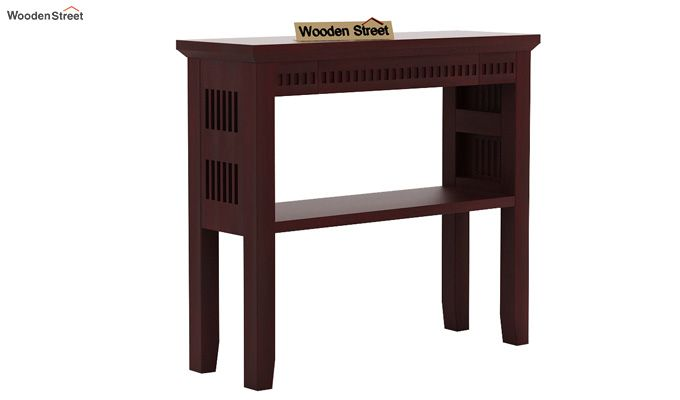 Rainer Console Table (Mahogany Finish)-3