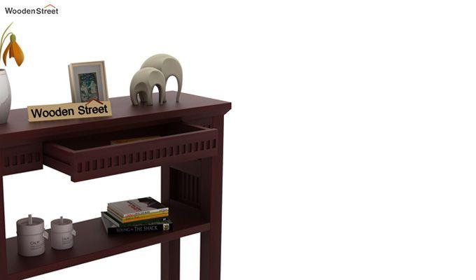 Rainer Console Table (Mahogany Finish)-4