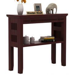 Rainer Console Table (Mahogany Finish)