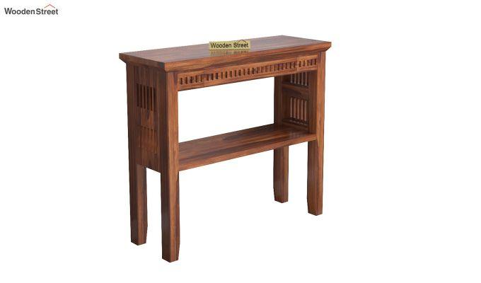 Rainer Console Table (Honey Finish)-2