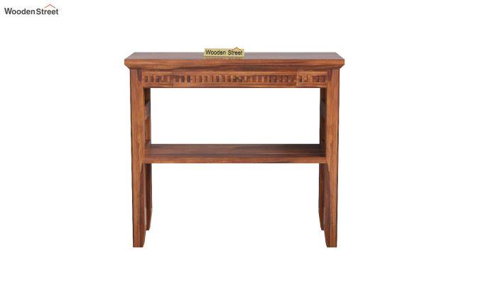 Rainer Console Table (Honey Finish)-3