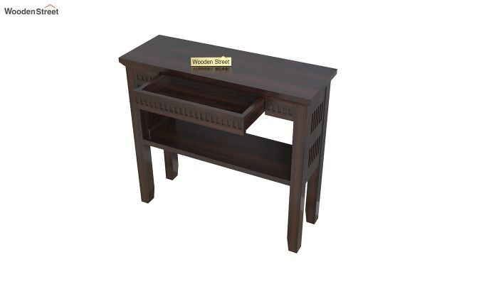 Rainer Console Table (Walnut Finish)-4