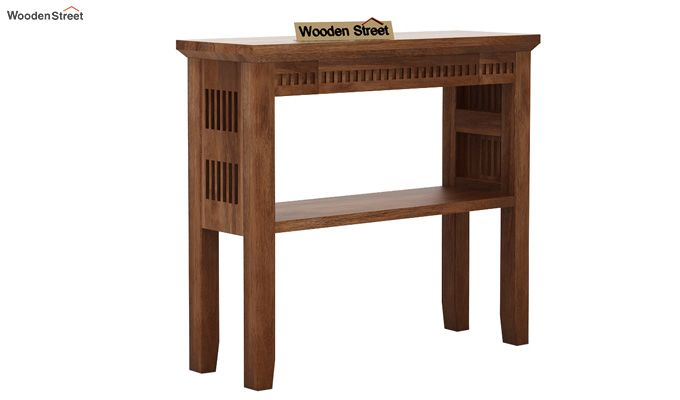 Rainer Console Table (Teak Finish)-3