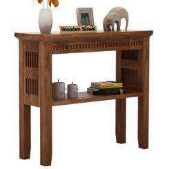 Rainer Console Table (Teak Finish)