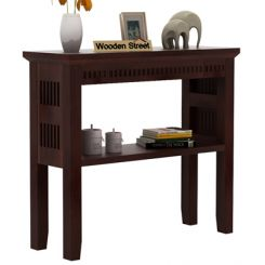Rainer Console Table (Walnut Finish)