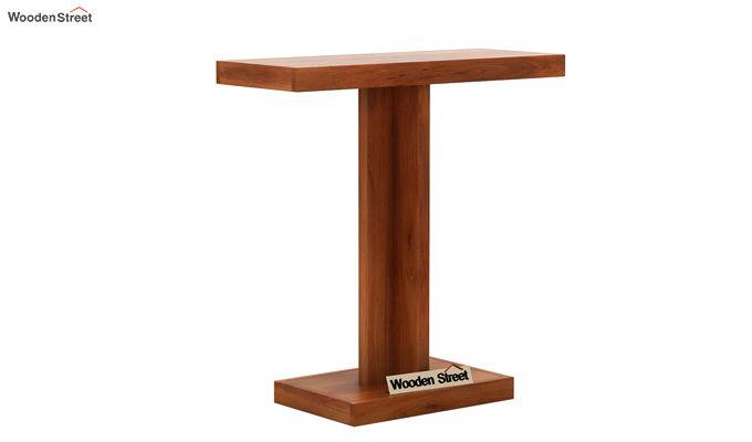 Rolan Console Table (Honey Finish)-3