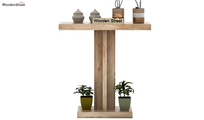Rolan Console Table (Natural Finish)-3
