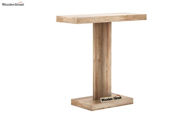 Rolan Console Table (Natural Finish)-4