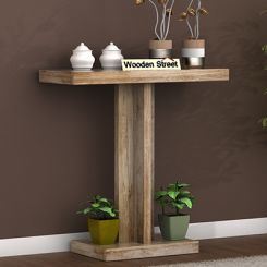 Rolan Console Table (Natural Finish)
