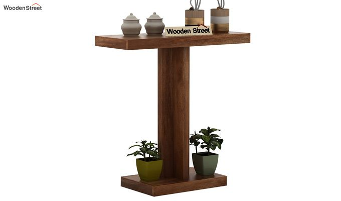 Rolan Console Table (Teak Finish)-1