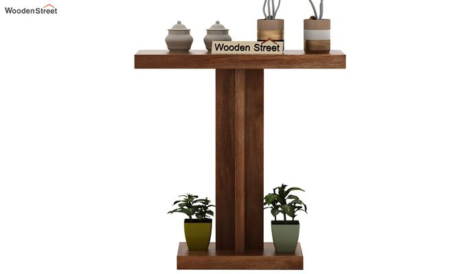 Rolan Console Table (Teak Finish)-2