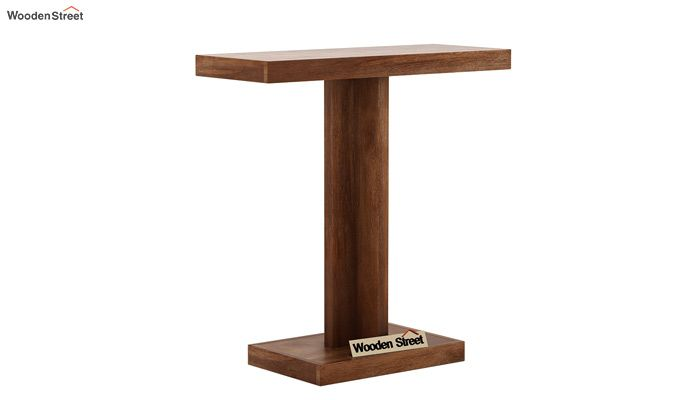 Rolan Console Table (Teak Finish)-3