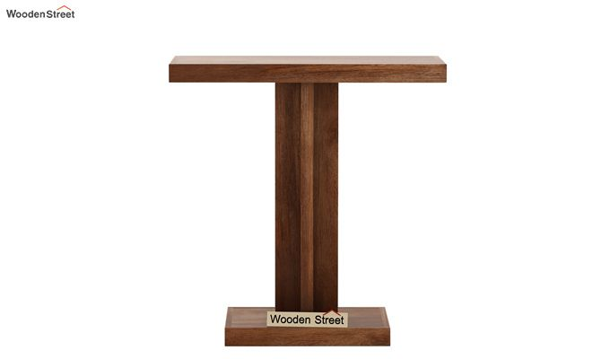 Rolan Console Table (Teak Finish)-4