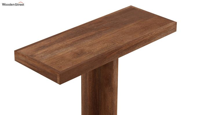 Rolan Console Table (Teak Finish)-5