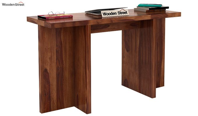 Sapphire Console Table (Teak Finish)-1