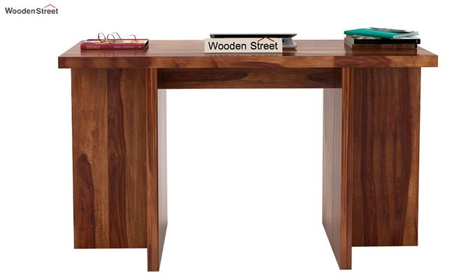 Sapphire Console Table (Teak Finish)-2