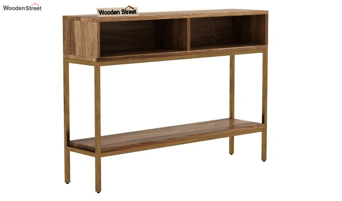 Sapphire Console Table (Natural Finish)-1
