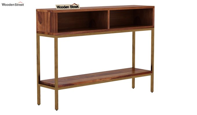 Sapphire Console Table (Teak Finish)-3