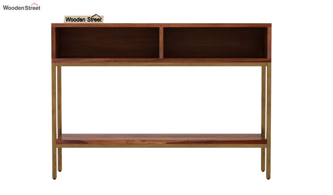 Sapphire Console Table (Teak Finish)-4