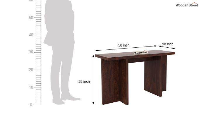 Sapphire Console Table (Walnut Finish)-6