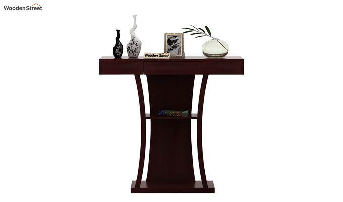 Sirin Console Table (Mahogany Finish)-2