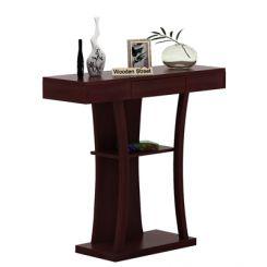 Sirin Console Table (Mahogany Finish)