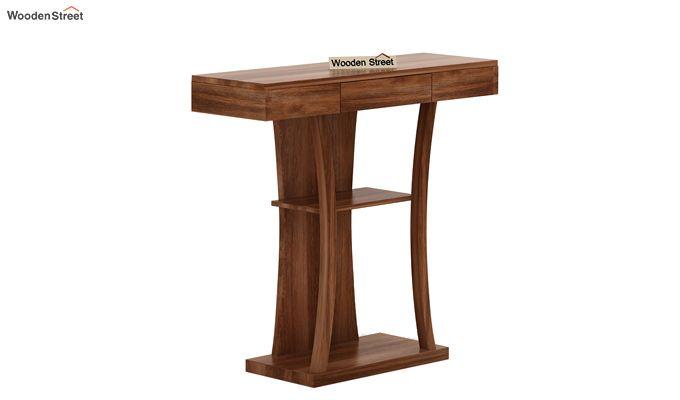 Sirin Console Table (Teak Finish)-3