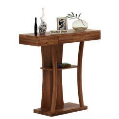Sirin Console Table (Teak Finish)
