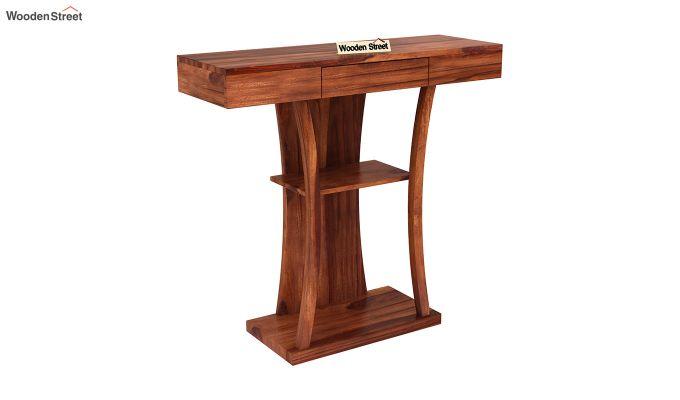 Sirin Console Table (Honey Finish)-2