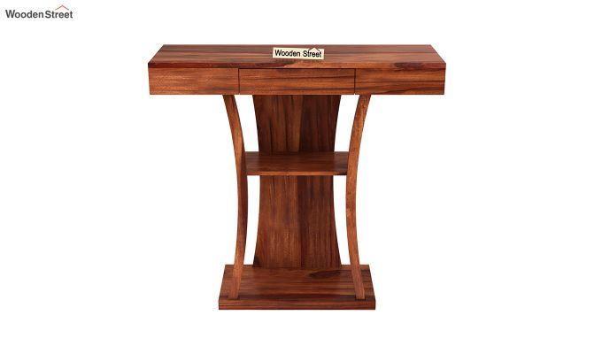 Sirin Console Table (Honey Finish)-3