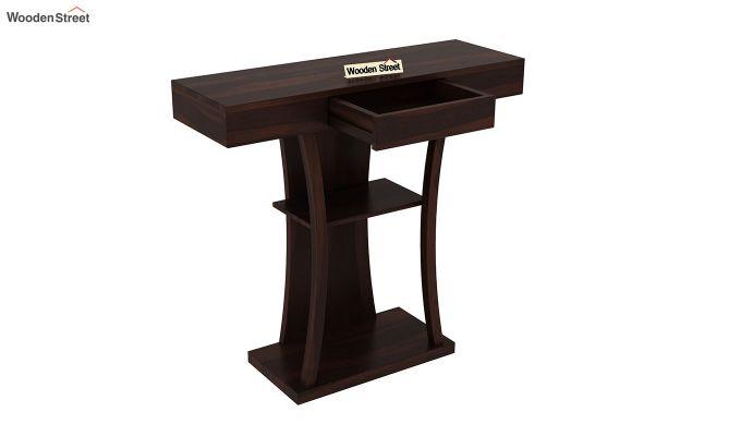 Sirin Console Table (Walnut Finish)-4