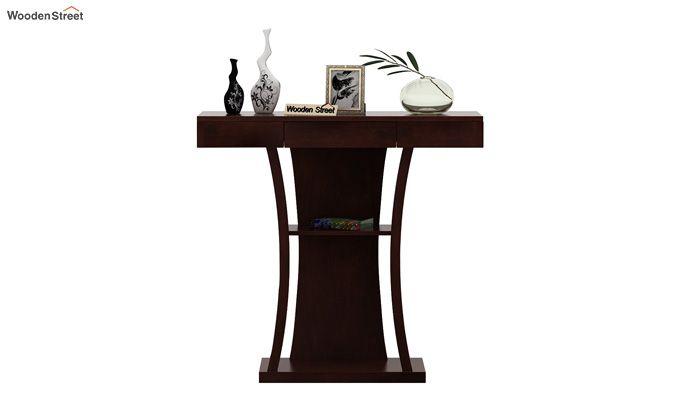 Sirin Console Table (Walnut Finish)-3