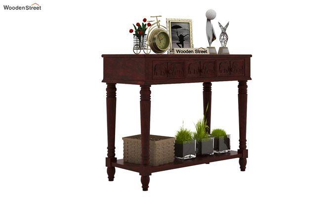 Smith Console Table (Mahogany Finish)-1