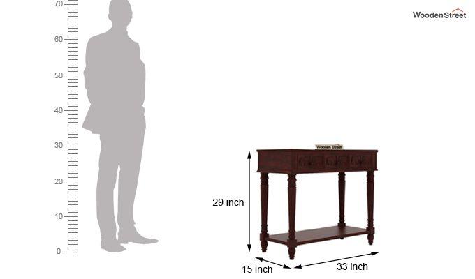 Smith Console Table (Mahogany Finish)-5