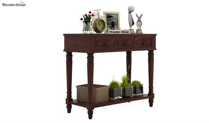 Smith Console Table (Walnut Finish)-2