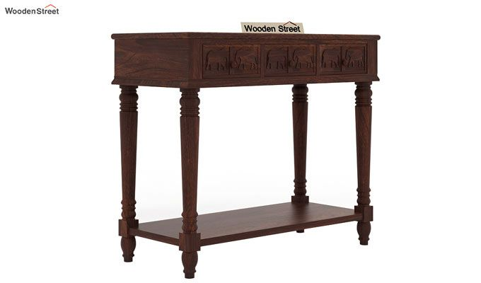 Smith Console Table (Walnut Finish)-4