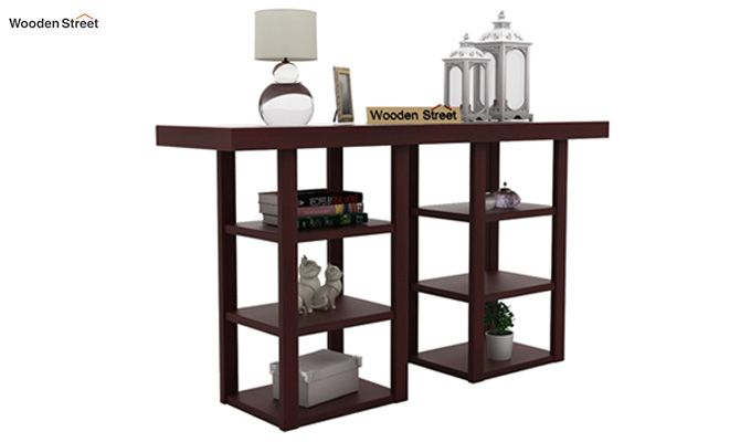Stanford Console Table (Mahogany Finish)-1