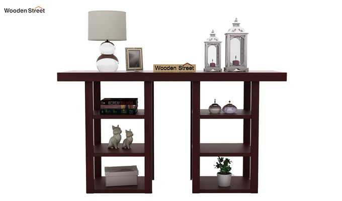 Stanford Console Table (Mahogany Finish)-2